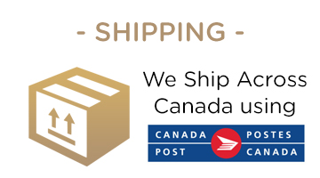 We Ship With Canada Post